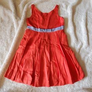 Janie and Jack linen dress